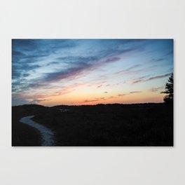 night time Canvas Print