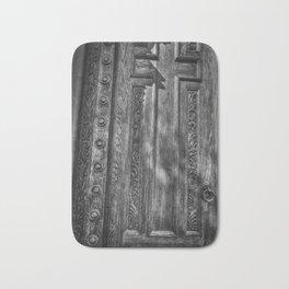 The Cross On The Door Bath Mat