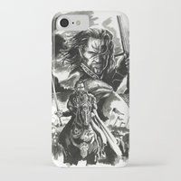 aragorn iPhone & iPod Cases featuring Aragorn by Juan Pablo Cortes