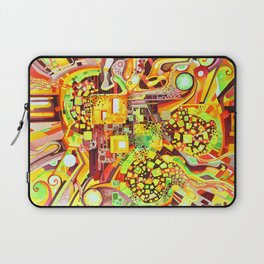Distortion Sympathy - Watercolor Painting & Timelapse Laptop Sleeve