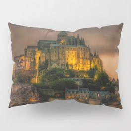 Le Mont Saint-Michel Pillow Sham