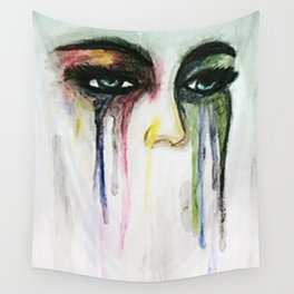 Tears of color Wall Tapestry