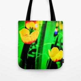 Flowers magic marsh Marigold Tote Bag