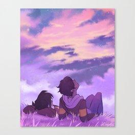 Stargazing Klance Canvas Print
