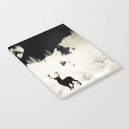Winter Silence Notebook