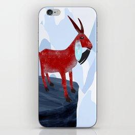 Mountain Goat Design iPhone Skin