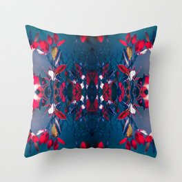 Hojas Throw Pillow