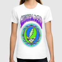grateful dead T-shirts featuring Grateful Dead #9 Optical Illusion Psychedelic Design by CAP Artwork & Design