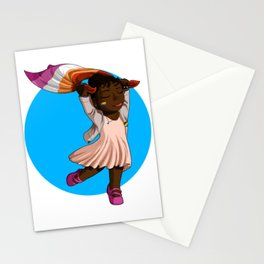 Pride Miserables - Lesbian Cosette Stationery Cards