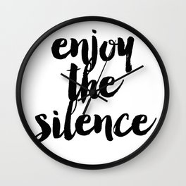 The Silence Wall Clock