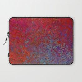 Rose-Petal Red Laptop Sleeve