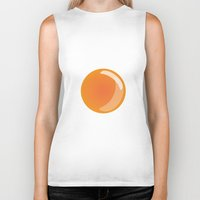egg Biker Tanks featuring Egg by Rodrigo Rojas