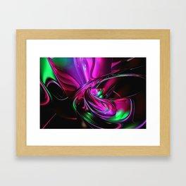 Blubber with Blub Framed Art Print