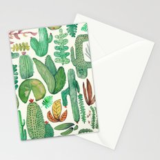 nature flora Stationery Cards