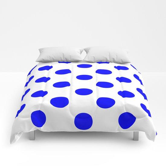 Polka Dots (Blue/White) Comforters