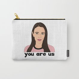 Jacinda Ardern Quote, You Are Us Carry-All Pouch