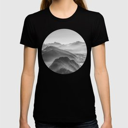 Balloon ride over the alps 3 T-shirt
