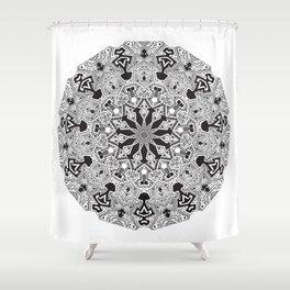 MANDALA #10 Shower Curtain