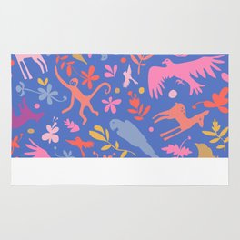 Frid Menagerie in Azul Rug