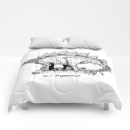 Figure One: Stegosaurus Comforters