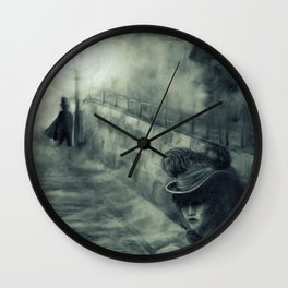 Whitechapel by Gaslight Wall Clock