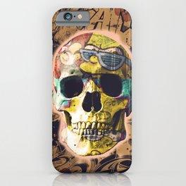 Urban skull 2 iPhone Case