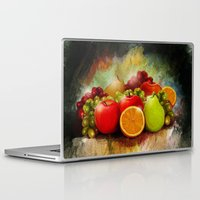 fruits Laptop & iPad Skins featuring fruits by ErsanYagiz