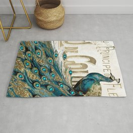 Peacock Jewels Rug