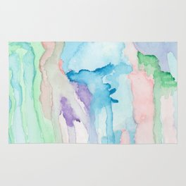 Watercolor Jellies Rug