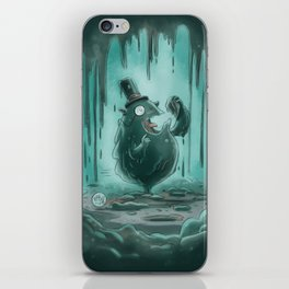 Goblins Drool, Fairies Rule - Gobble T. Goop iPhone Skin