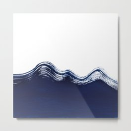 Waves of the Ocean Metal Print