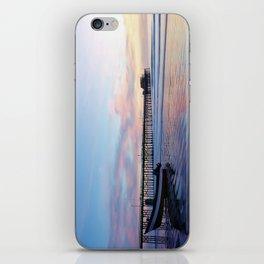 Dory Sunset Newport Beach Pier iPhone Skin