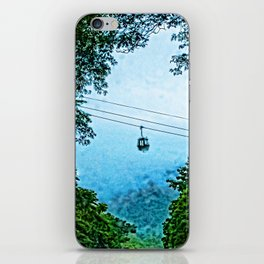 Travelling the mist iPhone Skin