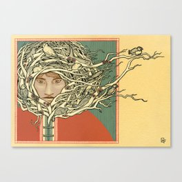Tangled Eskimo Canvas Print