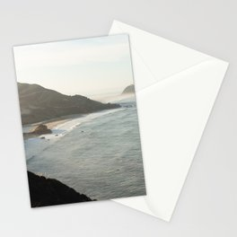 Sunrise over Big Sur Stationery Cards