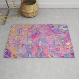 Electrified Crystal Ball Rug