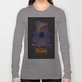 BINARIUS EPISODE I -- COVER Long Sleeve T-shirt