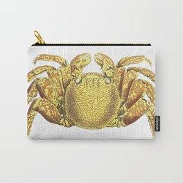 Varigated crab  from The Naturalists Miscellany (1789-1813) by George Shaw (1751-1813) Carry-All Pouch