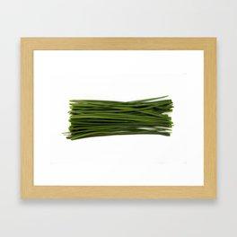 Chives Framed Art Print