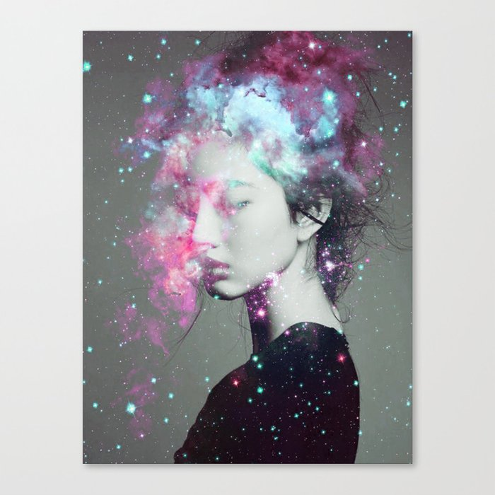 Explosive thoughts Canvas Print