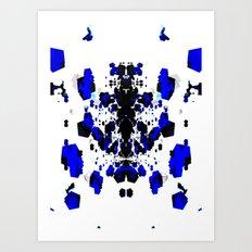 AH-WEANZZ-STANDOFF Art Print