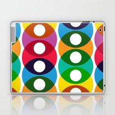 Geometric bubbles Laptop & iPad Skin