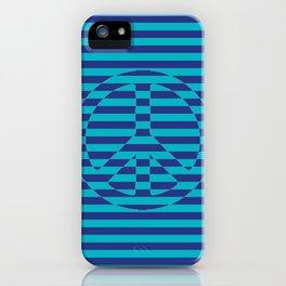 Navy Peace - Living Hell iPhone Case