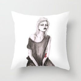 Sky Ferreira Throw Pillow