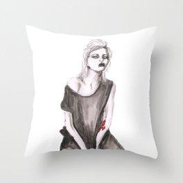 Sky Ferreira Throw Pillow