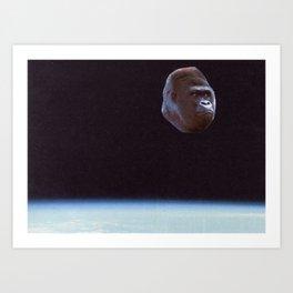 Still Gorilla Art Print