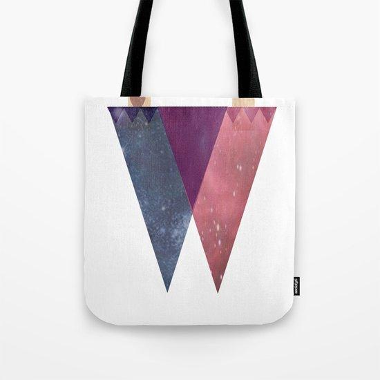 DoubleDualityPop Tote Bag