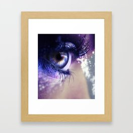 New Years Fireworks Framed Art Print