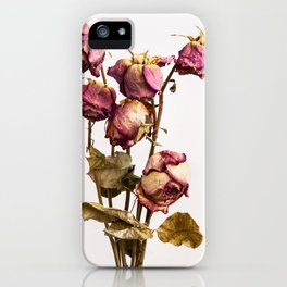 The old Roses iPhone Case