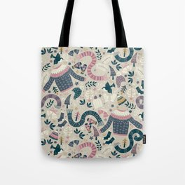 Winter Woolies Tote Bag